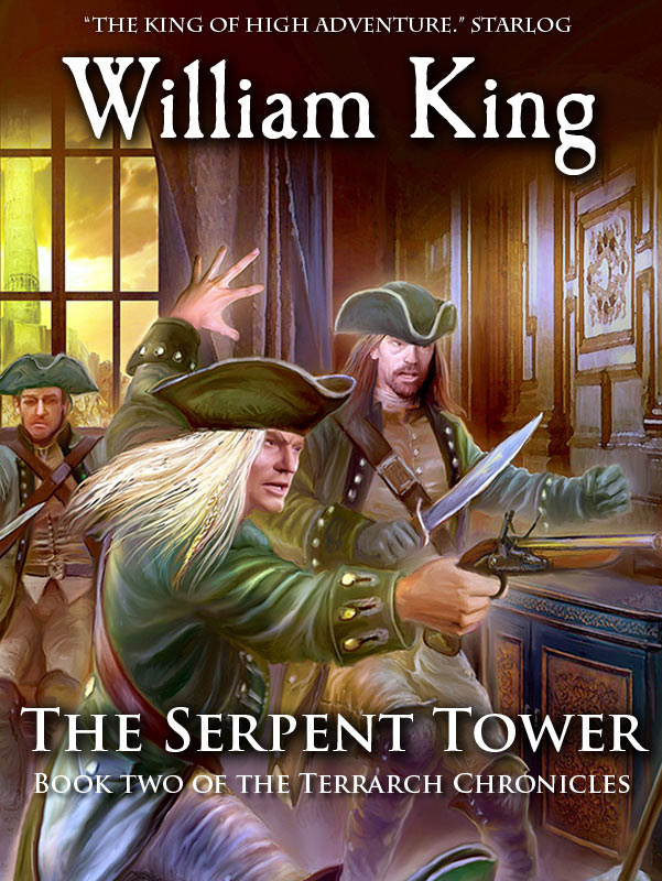Terrarch Chronicles - 02 - The Serpent Tower - William King