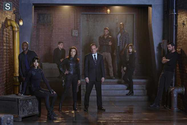 Agents of SHIELD Cast 0002
