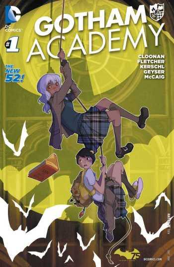Gotham Academy 001