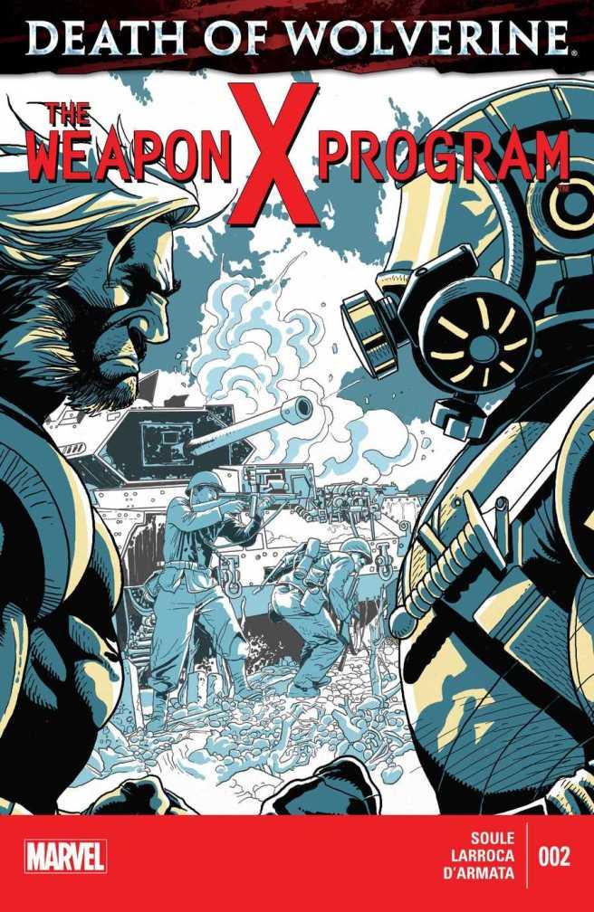 Death of Wolverine - Weapon X Program 002