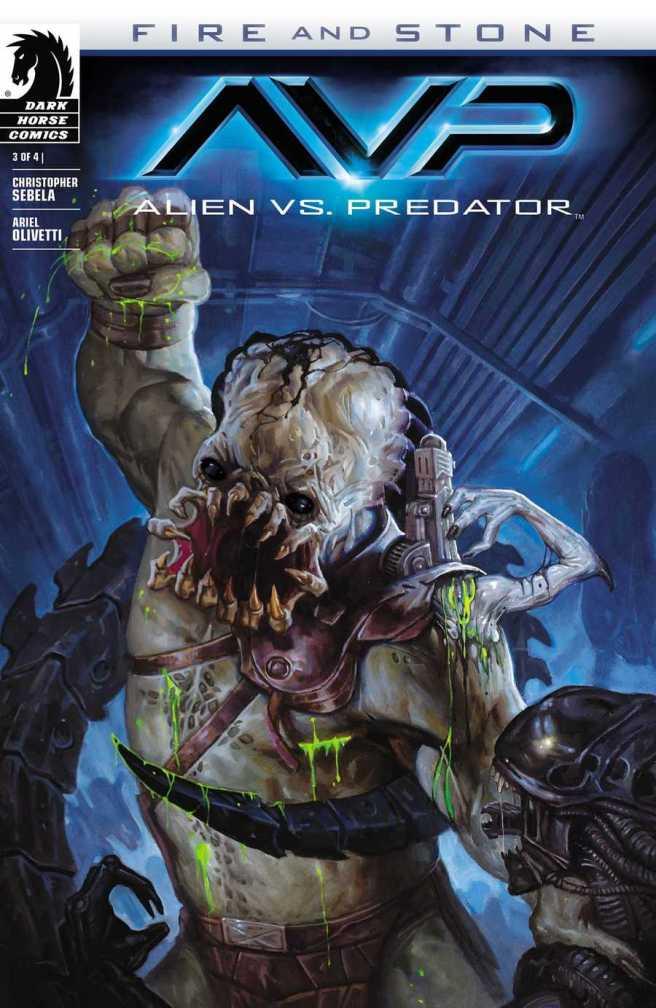 Alien vs. Predator - Fire and Stone 003