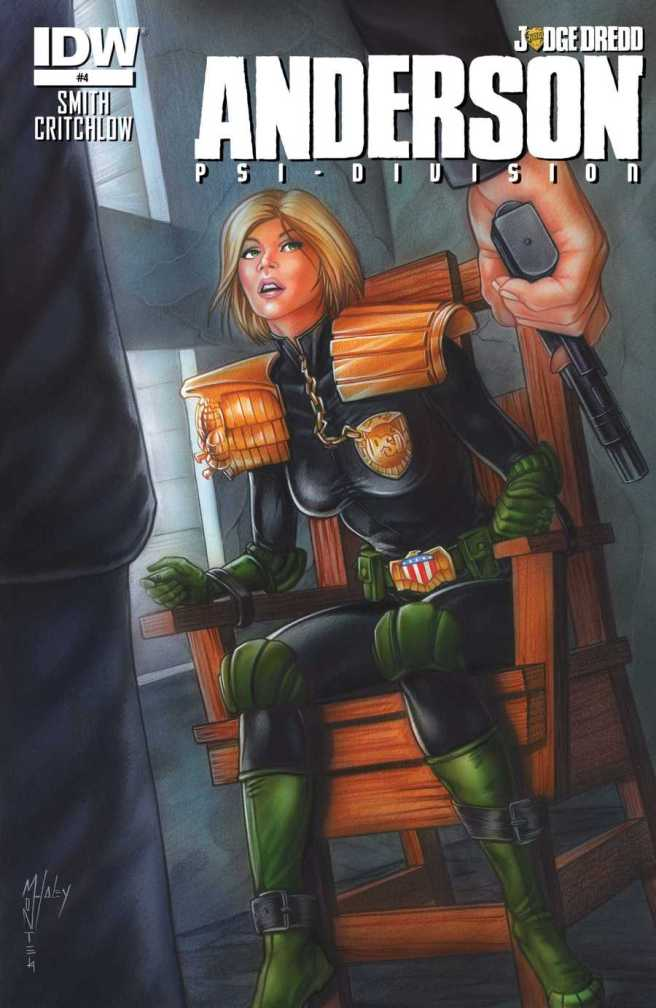Judge Dredd - Anderson, Psi-Division 004
