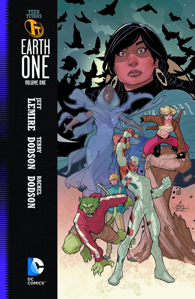 Teen Titans Earth One Vol.1 Cover